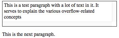 overflow: scroll screenshot