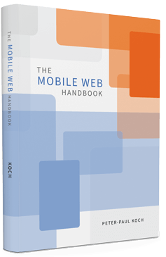 Cover of the Mobile Web Handbook